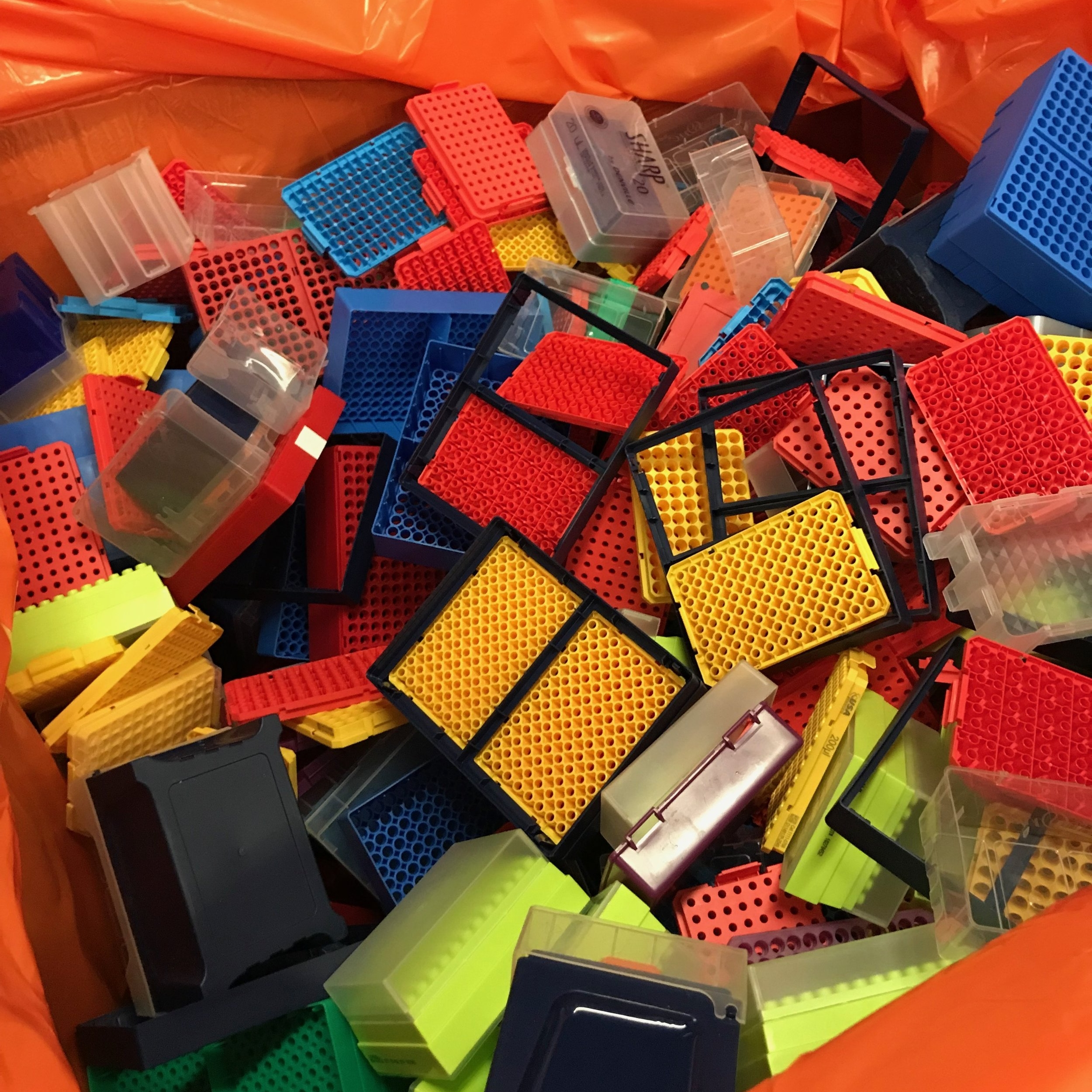 A recent waste audit at MIT found that OVER 80% of the plastic waste produced by laboratories are SINGLE-USE PIPETTE TIP BOXES!!!