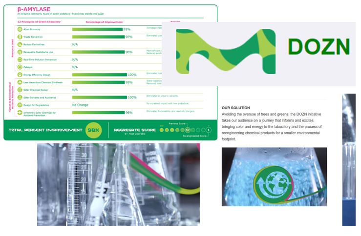 """Millipore-Sigma launches """"Dozn"""" - This is an interactive """"Greener Alternatives Evaluation Matrix"""" - use it to quantify the impact your synthesis may be having on the environment, and to explore ways to make your science greener!"""