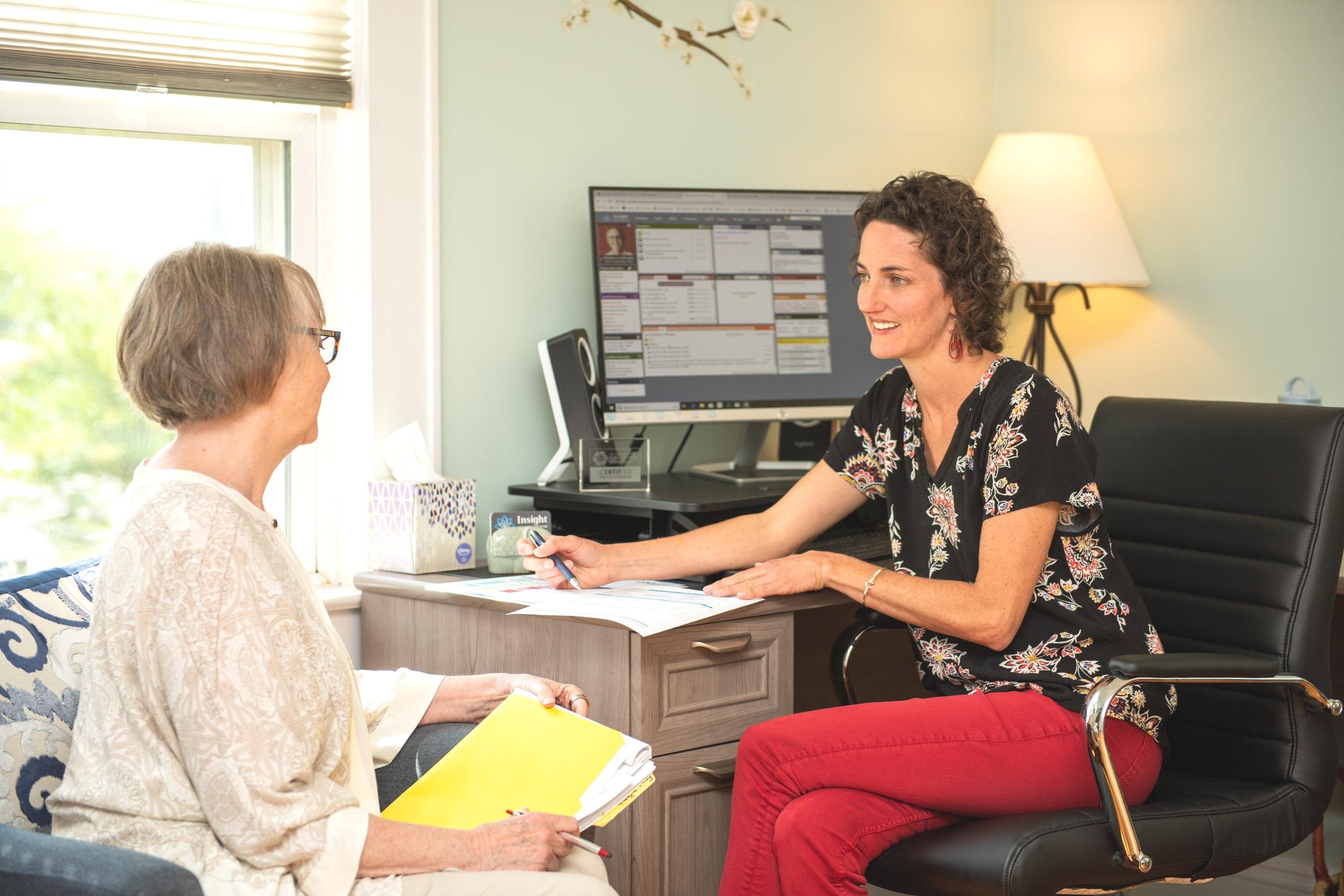 Dr. Bradt Patient Consultation