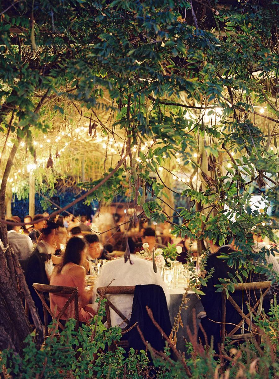 Wedding Dinner Pergola