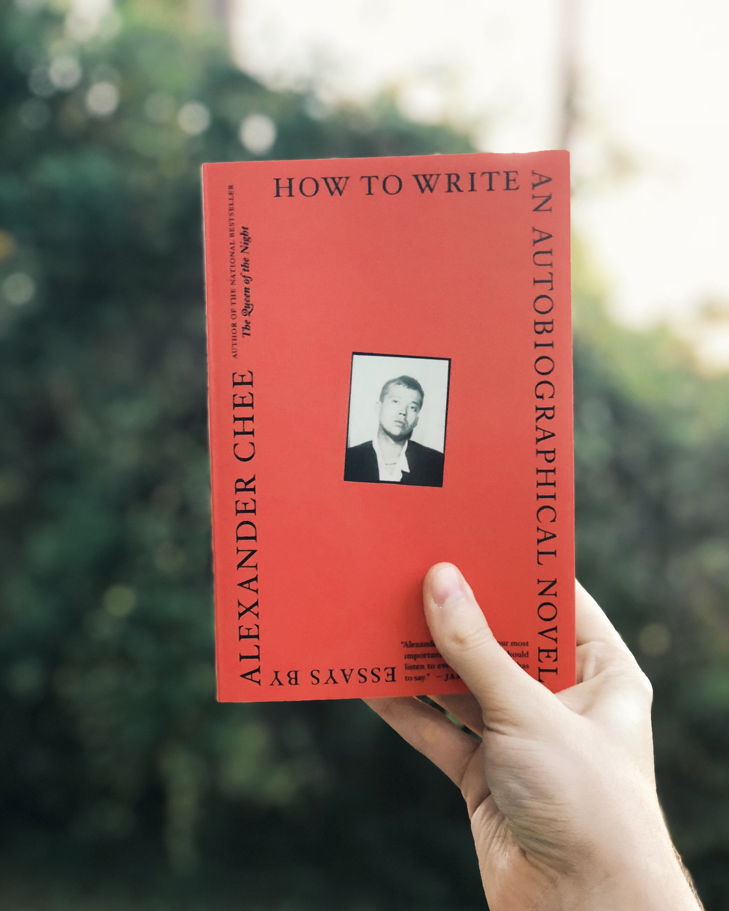 How To Write An Autobiographical Novel by Alexander Chee — Shelf