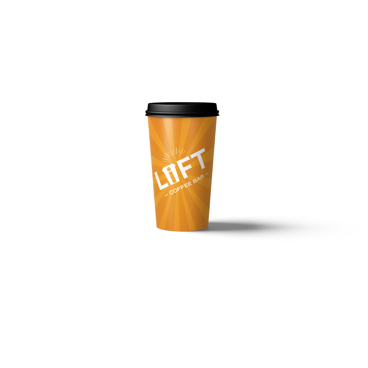 Lift Coffee Bar travel mug