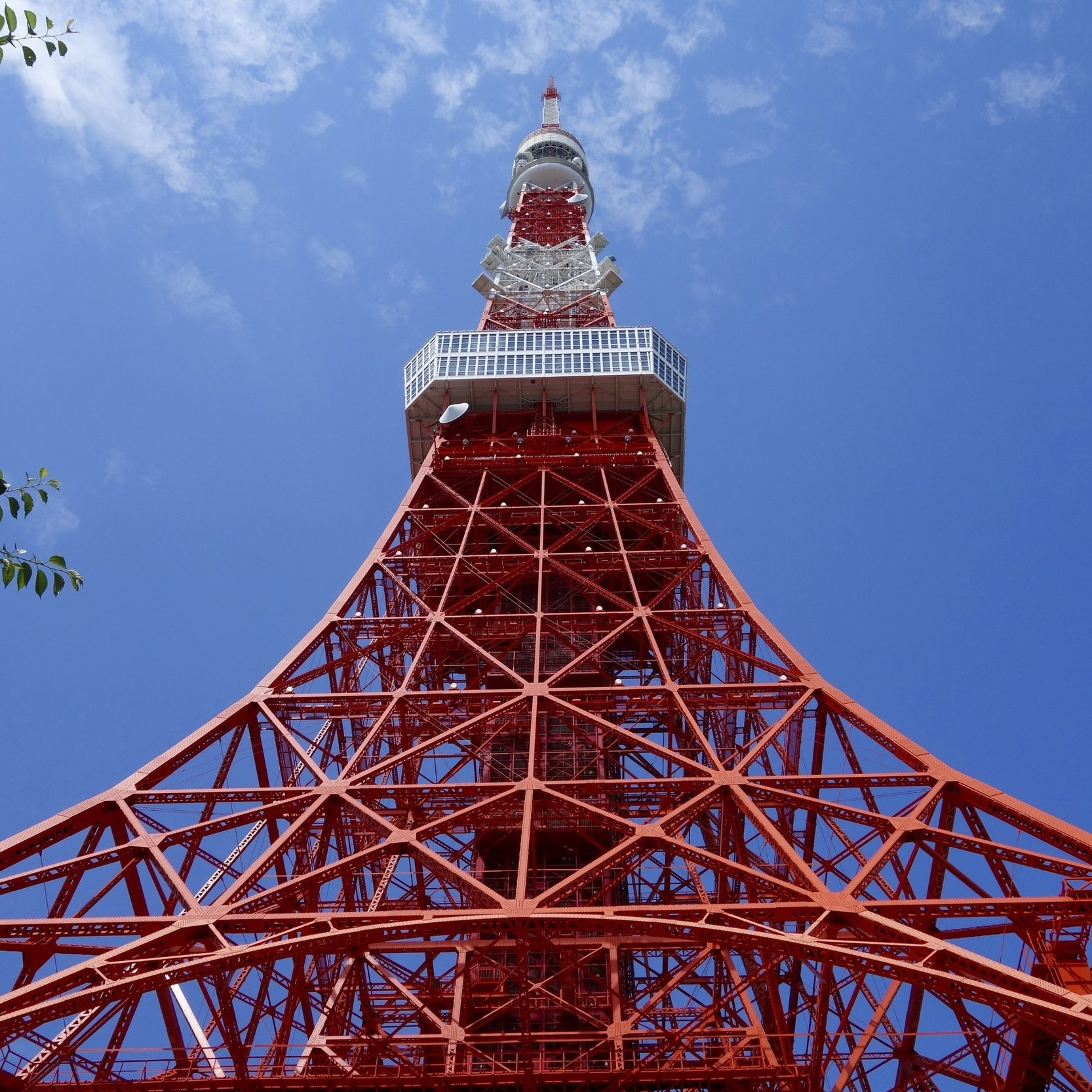 TOKYO TOWER - Meh... This is obviously a really big tourist attraction, however it isn't something that I was too impressed with. Lines are long and from what I've heard, you can find the same views for free... however, this still is an affordable option if you do want to do it.
