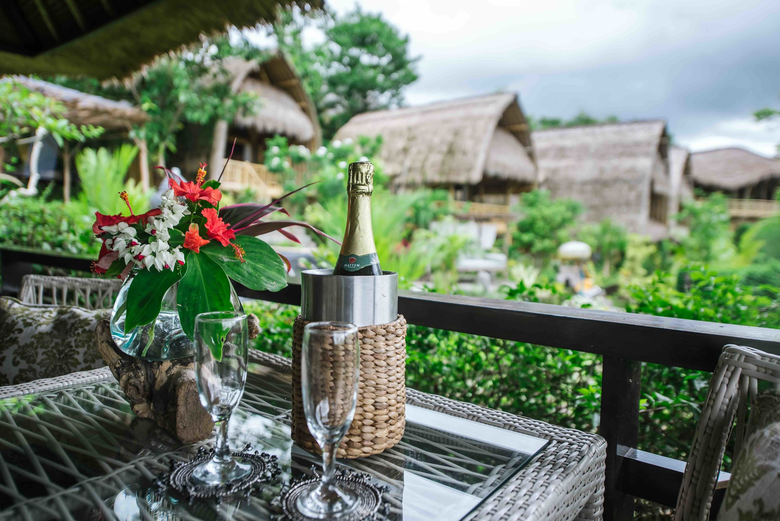 Romance Packages - Experience the ultimate romance amongst the rice fields, over international wines and delectable culinary delights, or simply relax over our signature spa treatments.