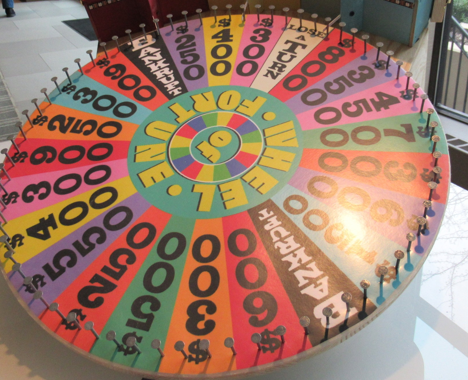 """If I said, """"The Wheel of Fortune,"""" you'd know what I meant, right?   Photo: Mare Swallow"""
