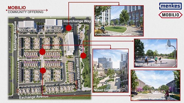 Mobilio, the first phase of a Master Planned Community by acclaimed developer, Menkes, is the close proximity .... 📍🏢York University's Keele campus 📍Ikea 📍🏥Mackenzie Health Hospital 2020 completion, 📍🛍Shopping centres (Vaughan Mills, Yorkdale).......... 📍🎡🎢Entertainment(Canada's Wonderland, Skyzone, Cineplex Colossus) 📍Recreational centres (Trio Sportsplex, YMCA & Vaughan Sportsplex II) 📍🚶♂️Walking distance to parks and trails 📍🛣407 & 400 📍🚊TTC, Go & Viva transit system 📍✈️Toronto airport  Mobilio will boast the entertainment, employment, and outdoor connection to truly define it is a balanced neighborhood in a blossoming urban centre.  Starting at the mid 300's, contact me for your unit today!  #menkes #mobilio #preconstruction #vaughan #community #realestate #VMC #growing #population #emoloymenthub #citydevelopment #urbancenter #desirable #407 #vaughmills #canadaswonderland #yorkuniversity #greenspace