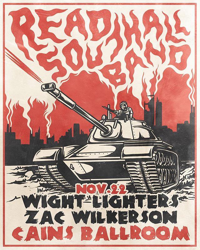 11/22 • Tulsa, OK • @cainsballroom