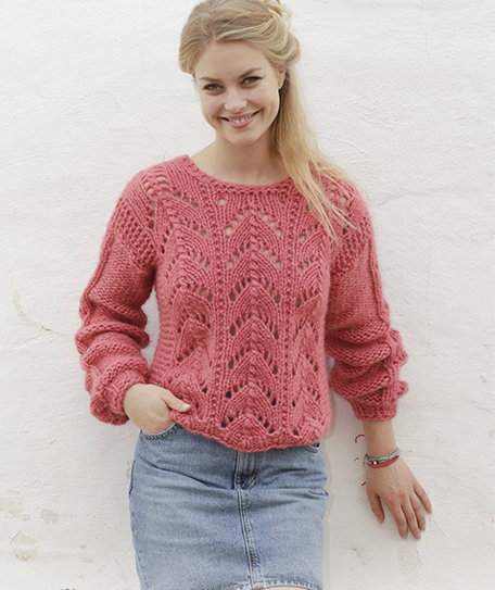 Blushing Beauty Jumper