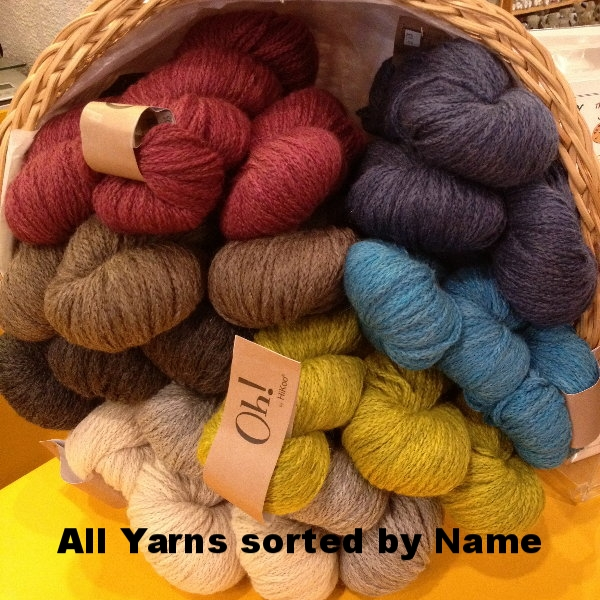 click Yarn list by NAME