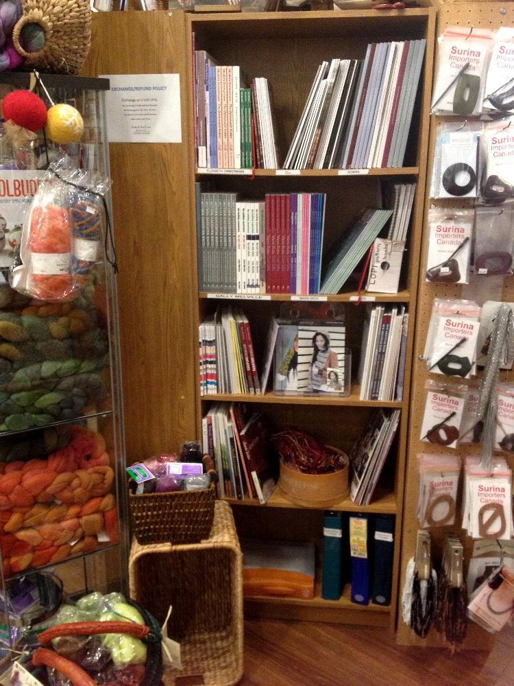 book shelf in our shop