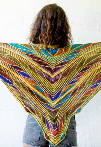 Papillon - Butterfly Shawl