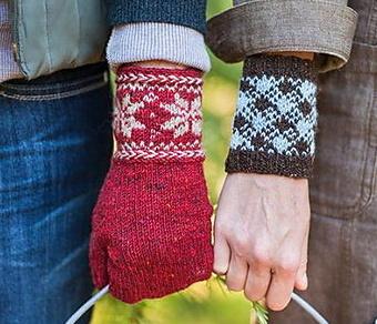 Colorwork Cuffs & Mittens