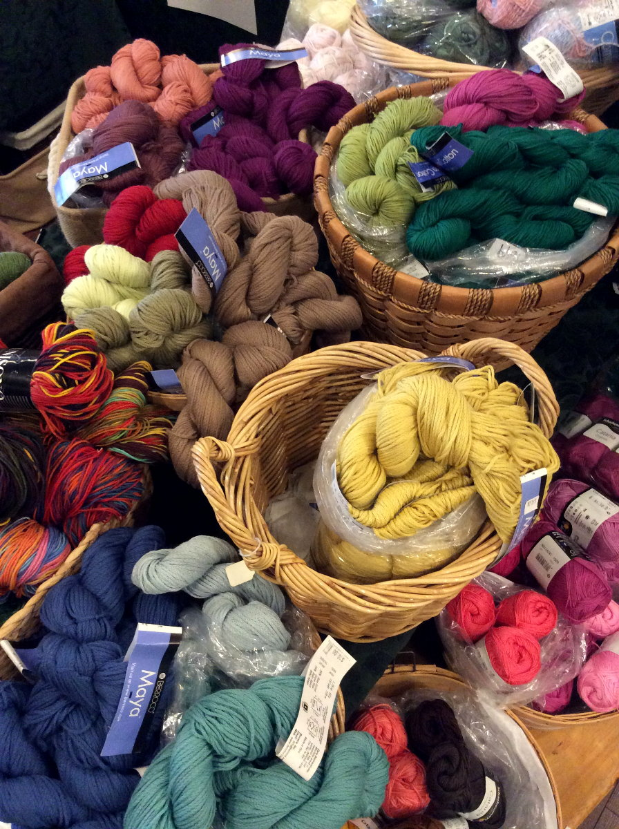 colourful Summer yarns