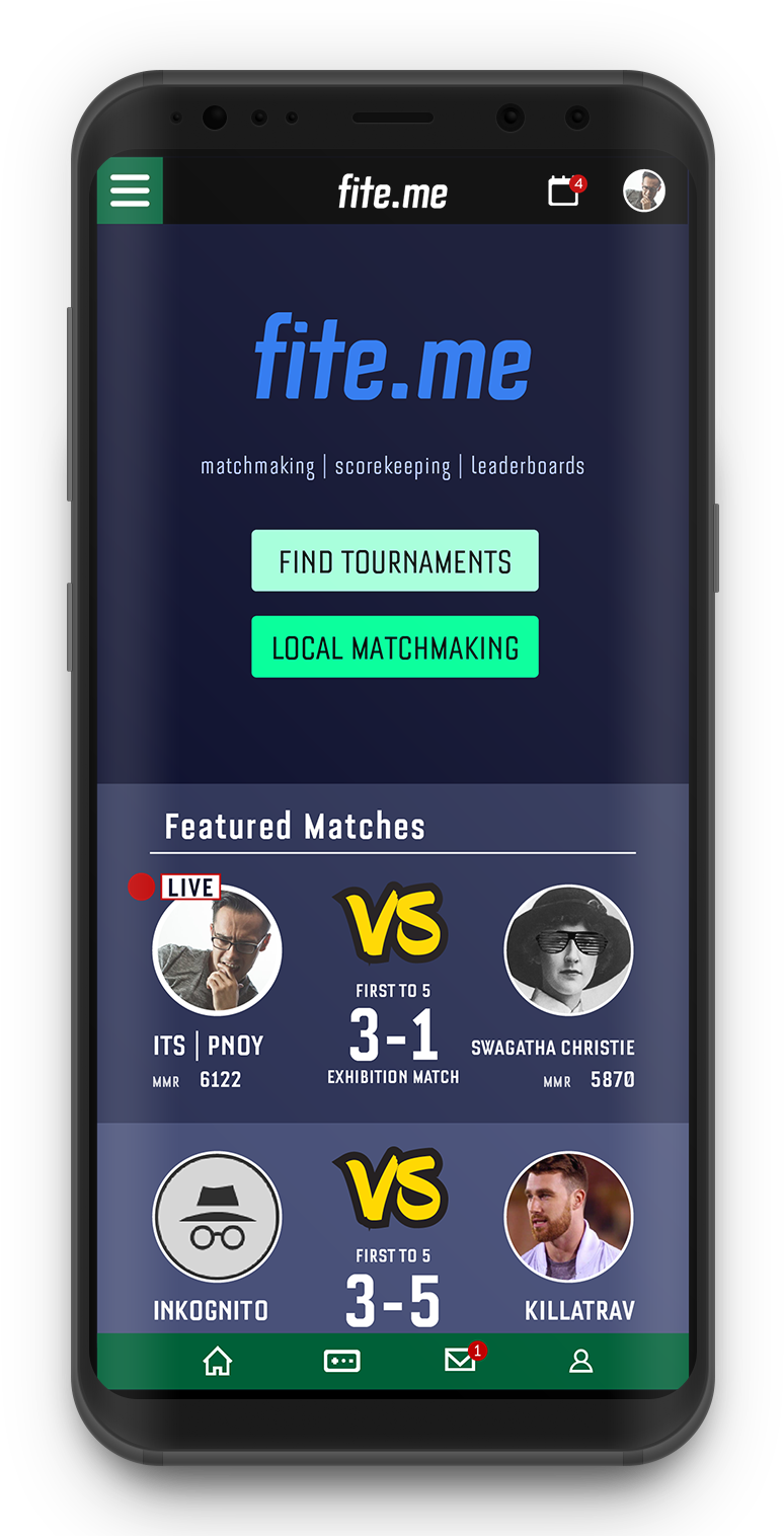 - Players can choose to find matches with players of similar skill levels in local settings such as weekly tournaments or arrange online sets with the greatest of ease.
