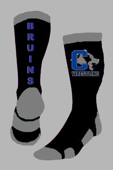 Cedaredge Bruins Wrestling Socks Black Blue Grey 102117.jpg