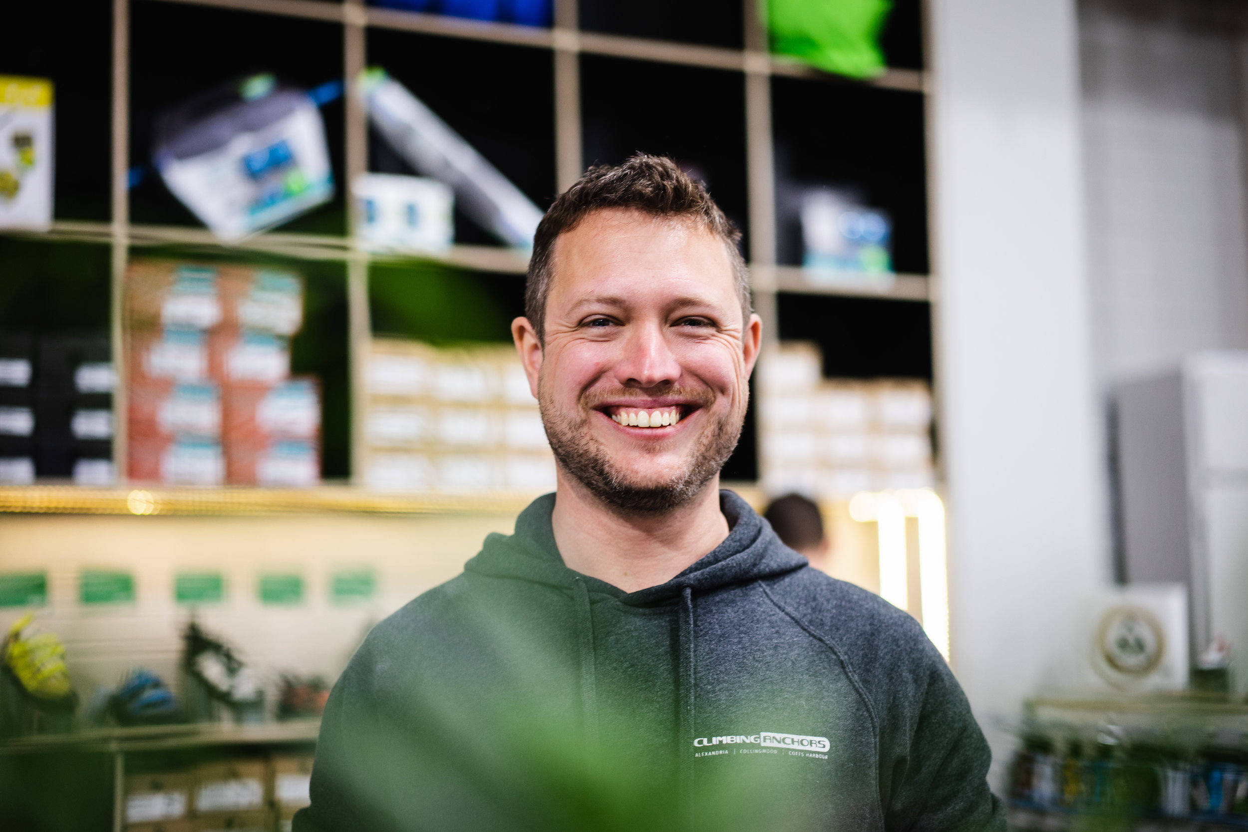 Jeremy Lam Photography  - Climbing Anchors co-manager Matt, the friendliest man alive!