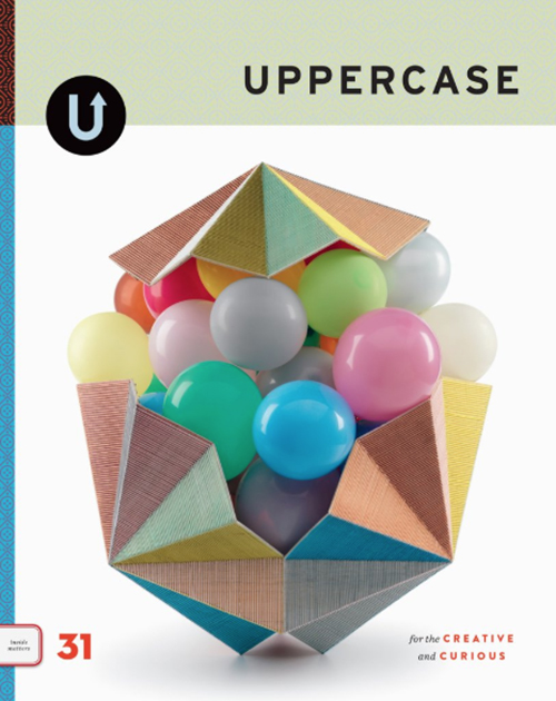 - Strange Diary is featured in Uppercase Magazine #31, click on the image to purchase!