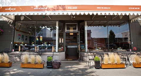V1 - Estevan Village: one of our #VillageGrowShows exists behind the restaurant,