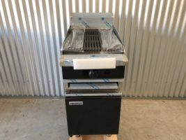Waldorf Gas Char Grill BOLD BLACK CHB8450 – New   $2,950.00 + GST   Gas LPG or Nat Gas – Full BOLD Cabinet Base, BOLD is an Expensive Extra from Moffat  Dimensions : 450W x 815D x 1050H