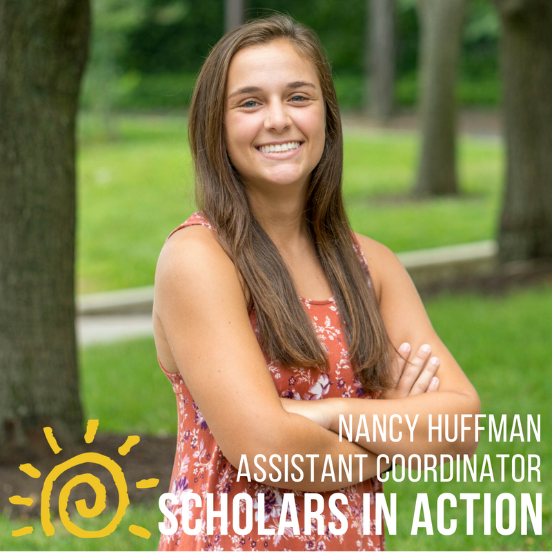 Nancy Huffman - Within the UMD community, I have served as a representative for the College Park Scholars Student Advisory Board, a Maryland Images campus tour guide, a Science and Global Change peer mentor, and an undergraduate teaching assistant for both the Animal Science department and the College Park Scholars. Off campus I have been an intern at the Maryland Zoo and the Smithsonian National Zoo. I am extremely excited about this project because of my deep love and gratitude towards the Scholars program, and hope keep improve it for students and years to come!