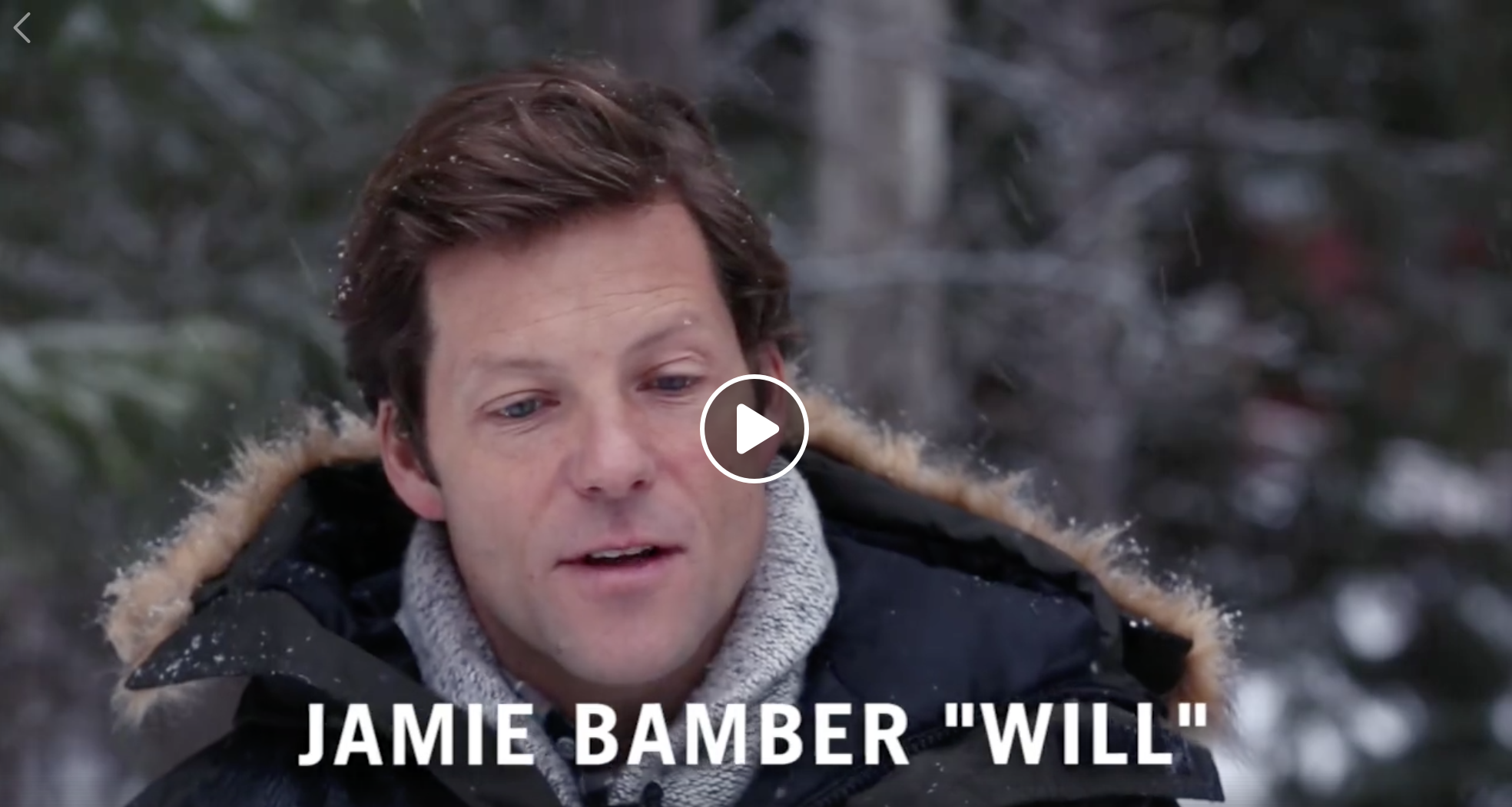 Jamie Bamber BTS
