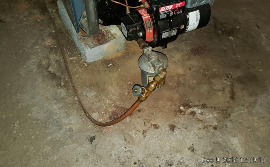 Fuel Oil Shutoff at Heating System (Boiler)
