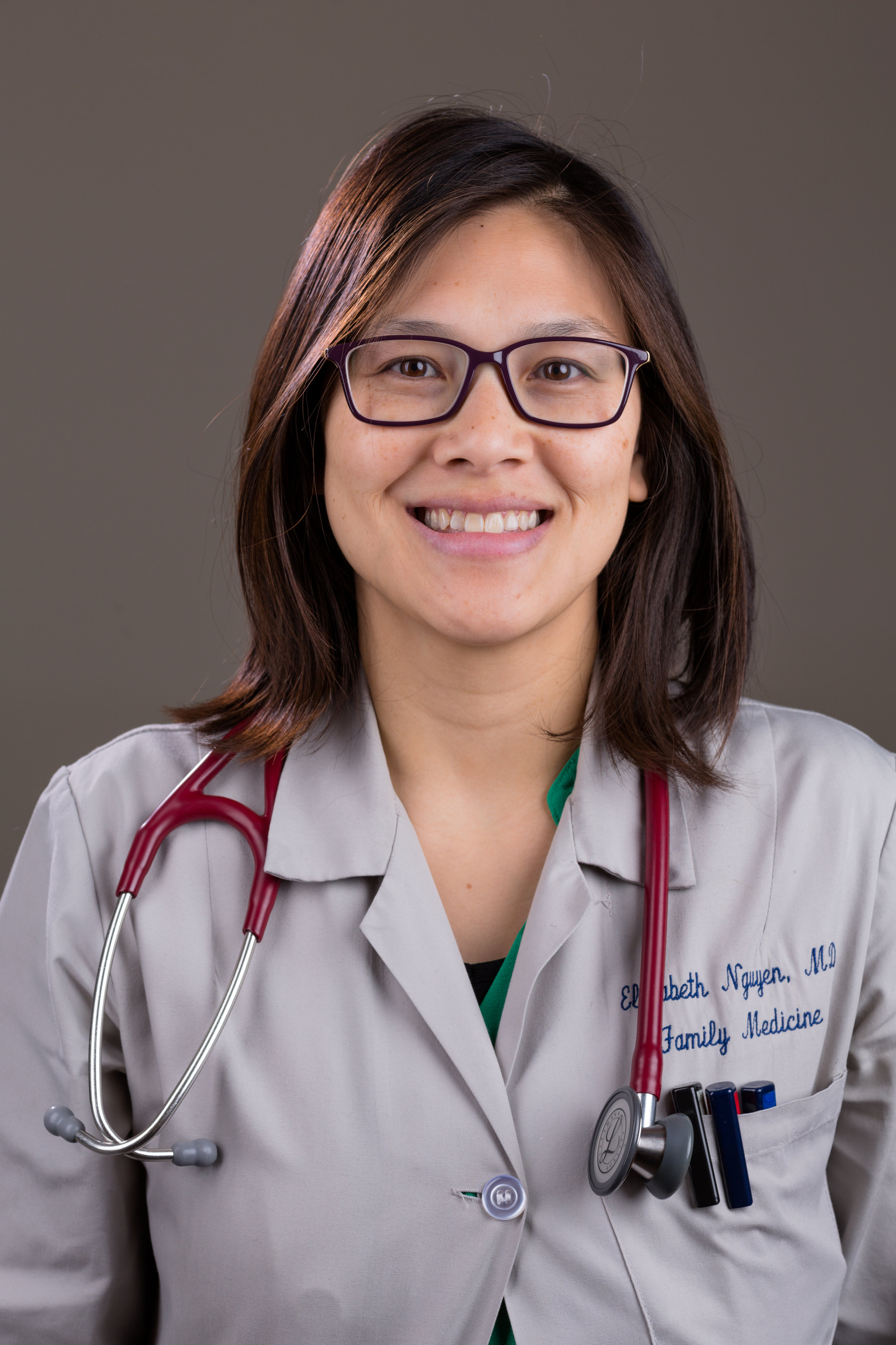 Dr. Elizabeth Nguyen, MD.  Associate Quality Assurance and Improvement Director