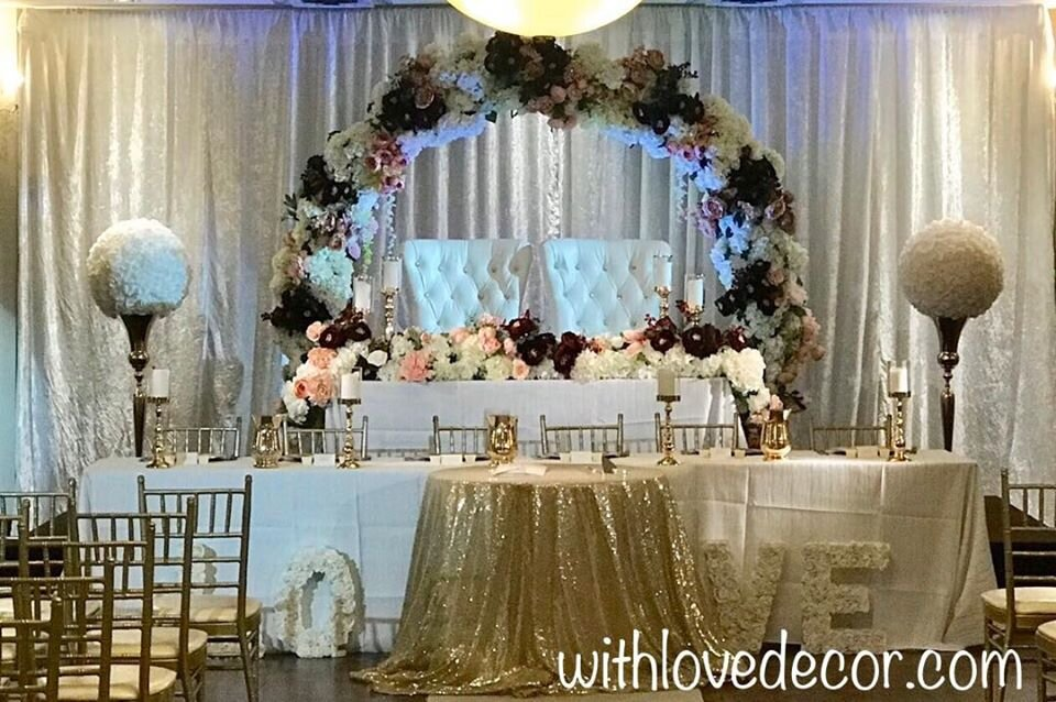 Event Decor With Love Wedding Decor And Floral