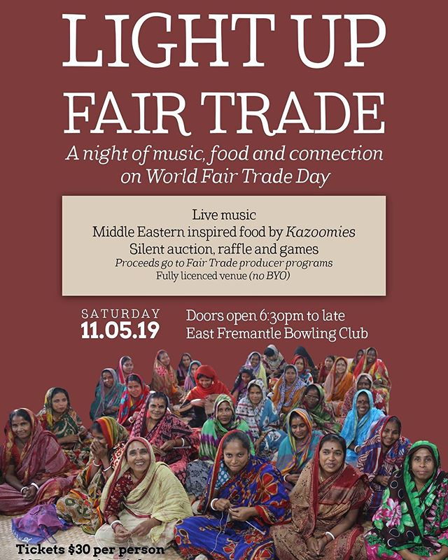 Miss us? 😏 Come and enjoy one of our signature Buffets this Saturday while supporting a fantastic organisation and enjoying a wonderful night. 🙌🏼 ✨Tickets only $30✨🙌🏼 The WA Fair Trade Collective Presents: Light Up Fair Trade A night of music, food and connection on World Fair Trade Day  Join us and celebrate all things Fair Trade with: - Live music by Ezer Eve - Abundant Middle Eastern inspired food by KAZOOMIES-Feel Good Food Restaurant - Silent auction, raffle and games - proceeds to Fair Trade producer programs - Fair Trade chocolate cake live auction  Shine a light on the many exciting businesses in WA and beyond that bring ethically traded artisan products, fashion and food to the Australian market. Recognise and celebrate the history and legacy of Oxfam Trading/ Community Aid Abroad as they sadly close their doors after 57 years of Fair Trade in Australia.  https://m.facebook.com/events/1137964656385543?ti=icl : : : : : : : #catering #buffet #grazingtable #foodart #artofplating  #goodeats #foodstagram #foodgasm #foodlove #foodporn #tapas #middleeasternfood #foodforfoodies #kazoomies #foodcoma #perthfood #perthlife #foodgram #perthfoodies #perthfoodblogger #pertheats #perthcatering #foodography #freo #banquet #feast #oxfam #wafairtradecollective #fairtrade #infreo