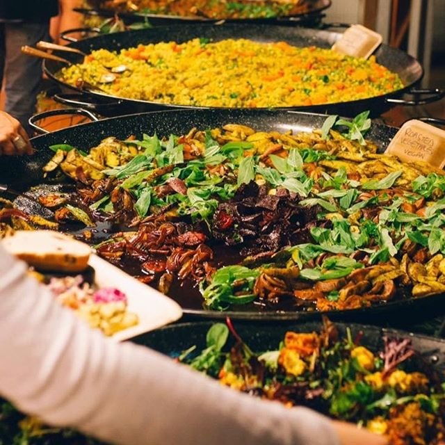✨ONLY 25 TICKETS LEFT✨ $30 all you can eat buffet 6.30pm tomorrow night in Freo 🌽🍆🌶🥕Menu announced🥕🌶🍆🌽 - Slow cooked chicken with green olives, apricots, caramelised onion & Moorish spices - Slow cooked lamb with dates, caramelised pears and ras el hanout - Traditional pearl couscous & root vegetables - Roasted cauliflower & date honey - Roasted zucchini with dill & yogurt - Ras el hanout roasted tomatoes with charred tahini dressing - Roasted potatoes with pickled eggplants - Beetroot & carrot salad - Chickpea, celery & pomegranate salad - Lentils, preserved oranges and pickled carrot salad - Dips and more! *Vegetarian, Vegan, GF friendly... https://www.facebook.com/events/1137964656385543/?ti=icl #catering #buffet #grazingtable #foodart #artofplating  #goodeats #foodstagram #foodgasm #foodlove #foodporn #tapas #middleeasternfood #foodforfoodies #kazoomies #foodcoma #perthfood #perthlife #foodgram #perthfoodies #perthfoodblogger #pertheats #perthcatering #foodography #freo #banquet #feast #oxfam #wafairtradecollective #fairtrade #infreo