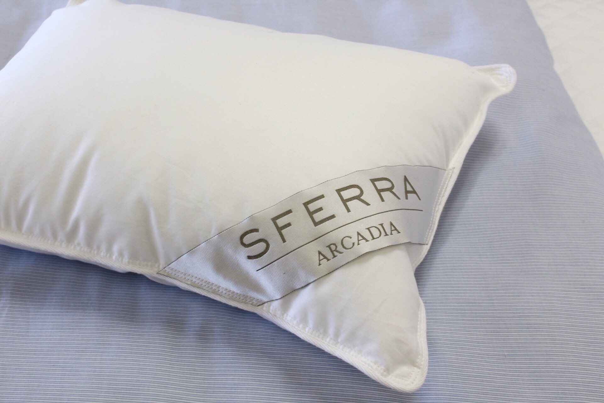 Don't forget the pillow. Sferra offers those too.