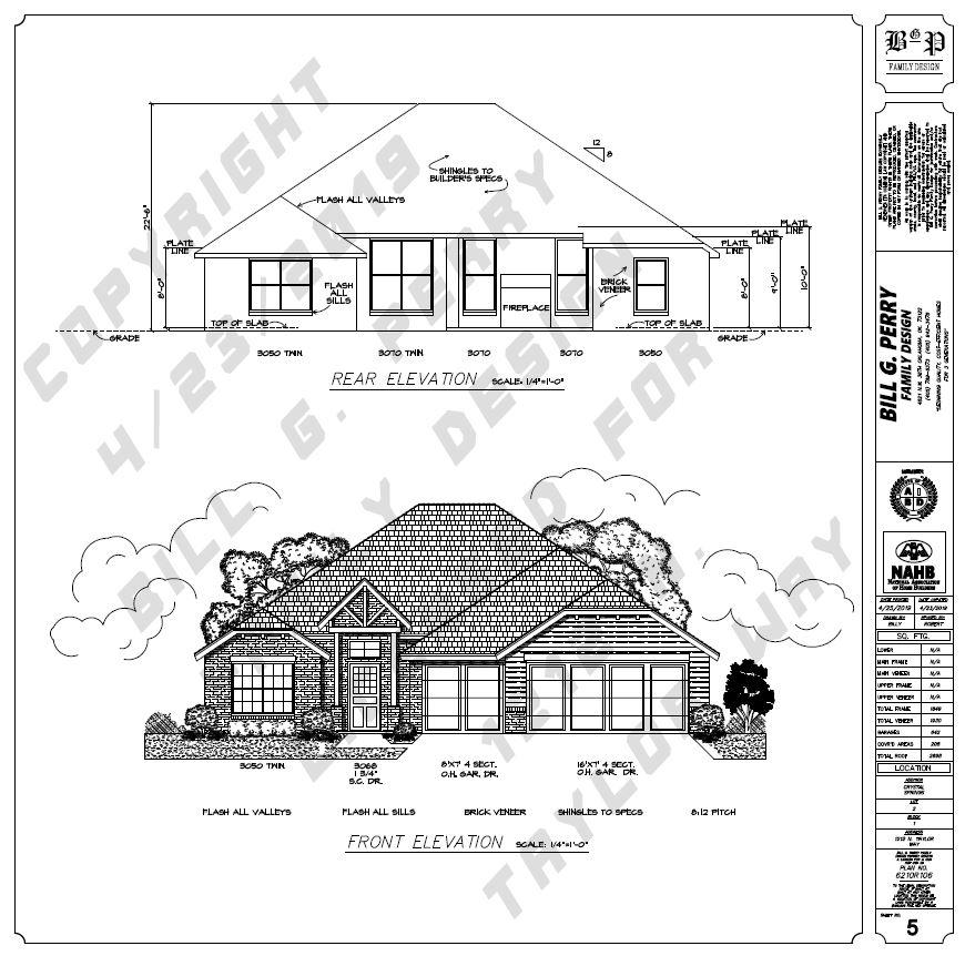 1212 N. Taylor Way Front Elevation Urban Nest Homes Oklahoma City Home Builder.JPG