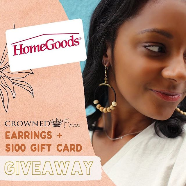 ✨GIVEAWAY!✨ Hi friends!! I've teamed up with some amazing mamas for a phenomenal cause! We are spoiling one lucky winner with a pair of these gorgeous @crownedfree earrings and a $100 gift card to HomeGoods!  @crownedfree supports and empowers survivors of Human Trafficking. They create sustainable jobs for girls who have been rescued, and they donate a portion of all profits to organizations who work to restore, rescue, and rehabilitate survivors! That's a cause we can all get behind! Help us spread the word!  HOW TO WIN:  1.Like this post. 2.Follow: @crownedfree @occasions.byshakira  @ellieandpiperco @sandboxacademy @playingwithplaydough 3.Tag a few besties in separate comments (more tags = more entries) BONUS points if you share this post in your stories and tag all accounts.  It's that easy! US entrants only. Winner will be announced Sunday May 19th at 12PM EST. This giveaway is not sponsored or endorsed by Instagram. Must be 18 or older to enter.