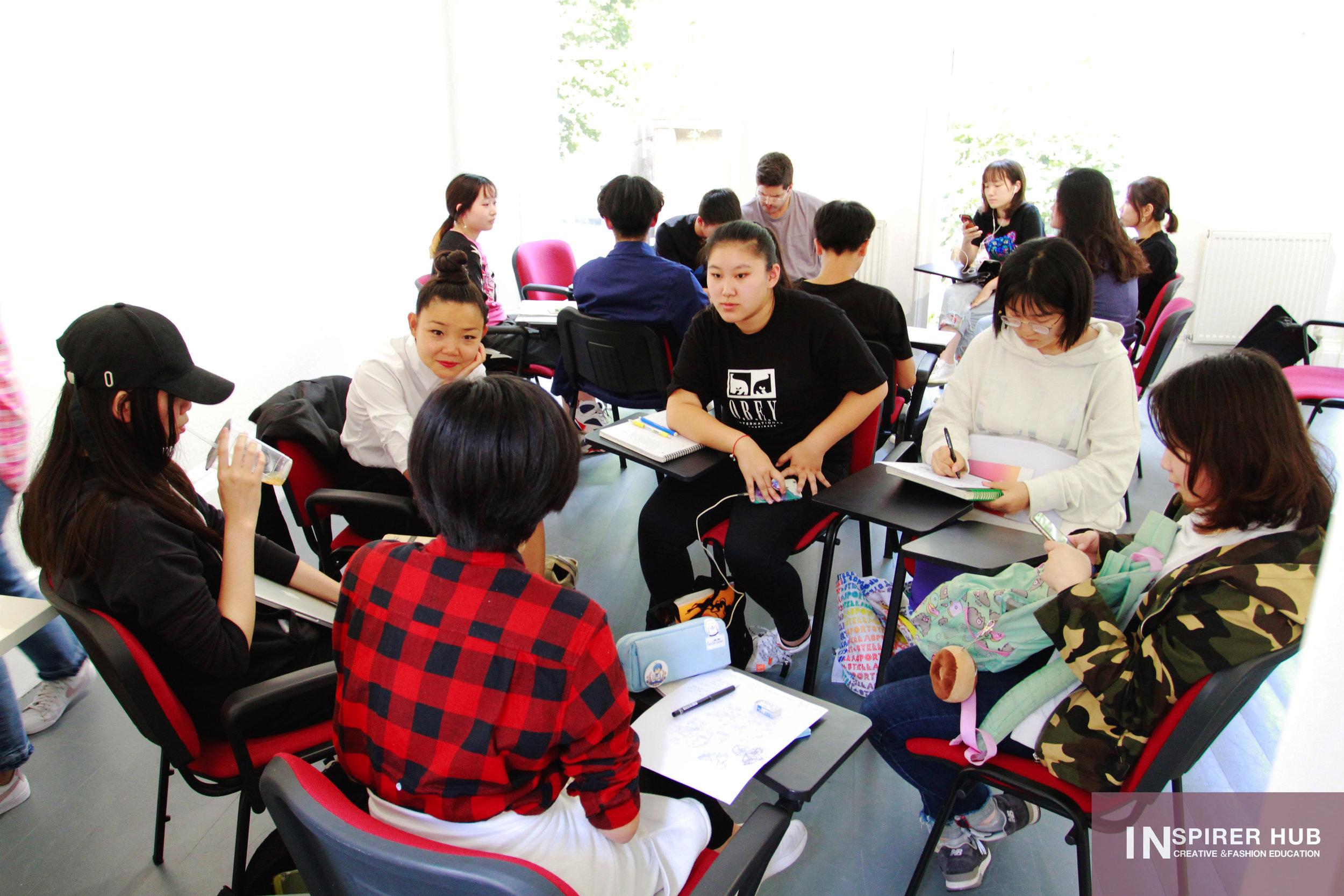 艺术家专业研讨会课程 - 2018 INSPIRER HUB艺术留学定制课程