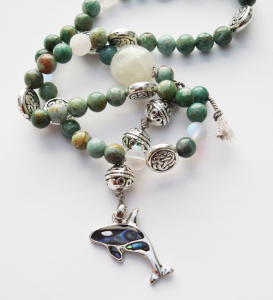Ritual and ceremony inspiring connection and activism - click to view prayer beads in               the shop