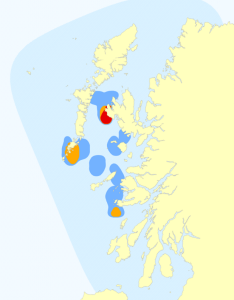 The Home Range of the West Coast            Community
