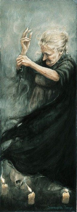 Spelling Witch by Jean-Baptiste Monge  Click on image for his website