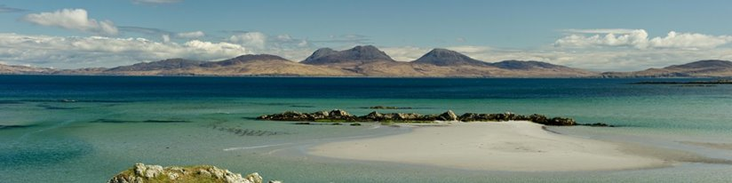 A Primordial Landscape - Looking over to Jura from Oronsay