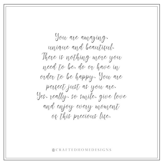 You are amazing ✨