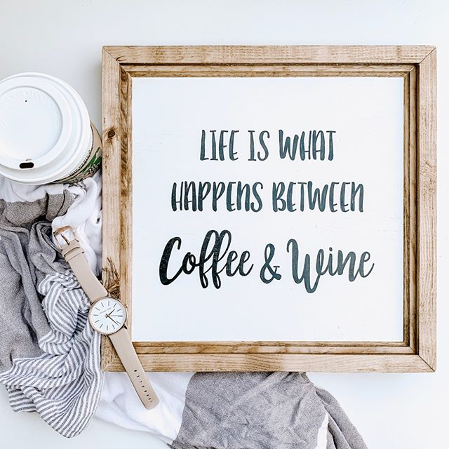 Truth ☕️ ↠🍷⠀⠀⠀⠀⠀⠀⠀⠀⠀ .⠀⠀⠀⠀⠀⠀⠀⠀⠀ .⠀⠀⠀⠀⠀⠀⠀⠀⠀ .⠀⠀⠀⠀⠀⠀⠀⠀⠀ Shop this sign! (Link in bio)