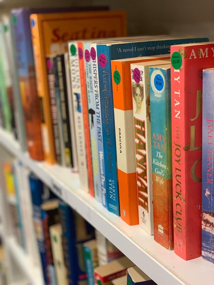 Vinnies Cootamundra Books  Photo Credit:  Jeana Bell