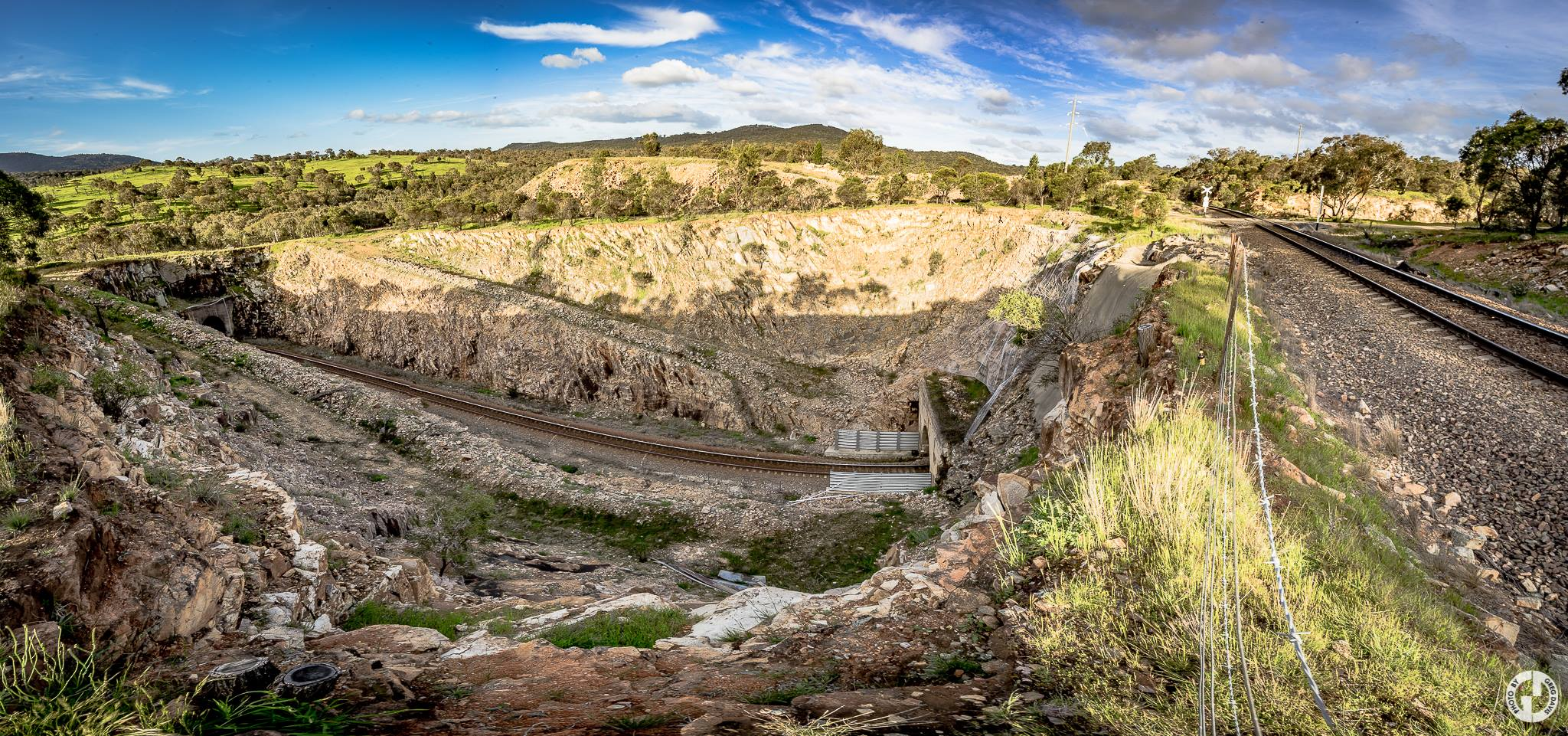 Bethungra Rail Spiral  Photo Credit:   Explored Visions by GD