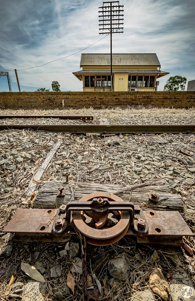 Cootamundra West Railway Station  Photo Credit:   Explored Visions by GD