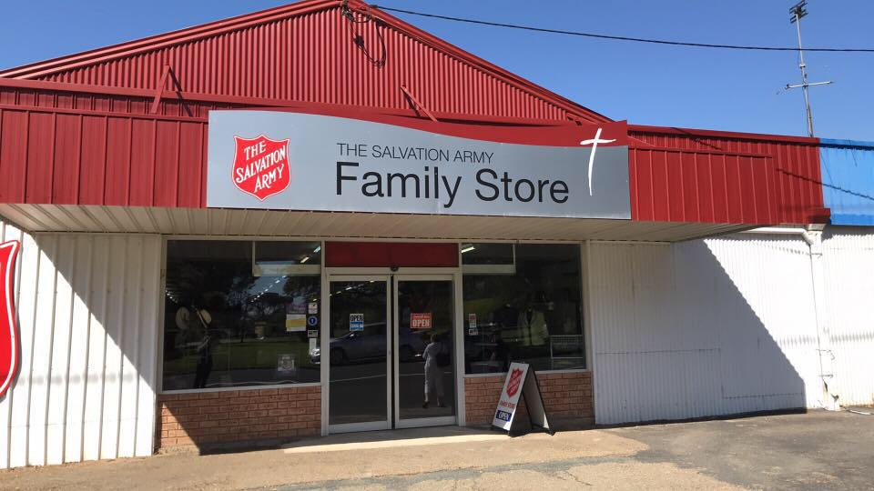 Salvation Army Family Store Cootamundra  Photo Credit:  Steph Anderson O'Brien
