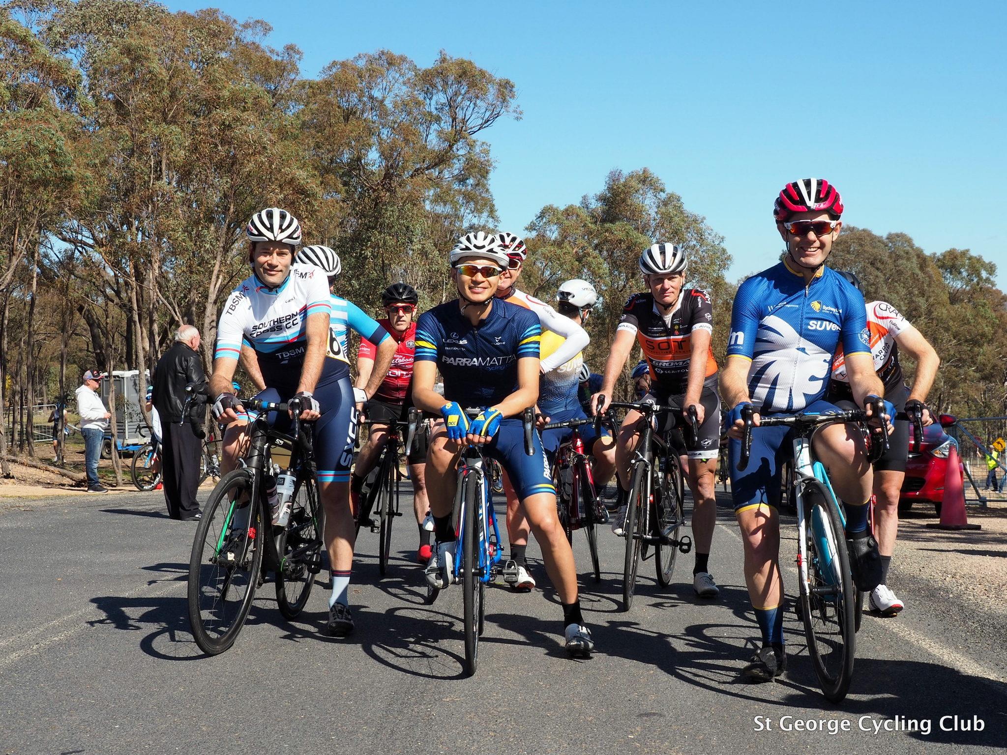 Photo Credit:   St George Cycling Club