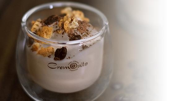 COLD CREAM COFFEEA rich, creamy Italian coffee aroma and flavourin a smooth cold cream. - Gluten Free, no GMO, no artificial colours & No hydrogenated fats.