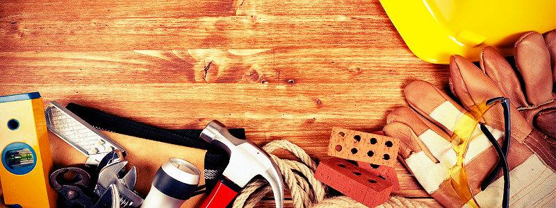 Diverse verktyg och handskar