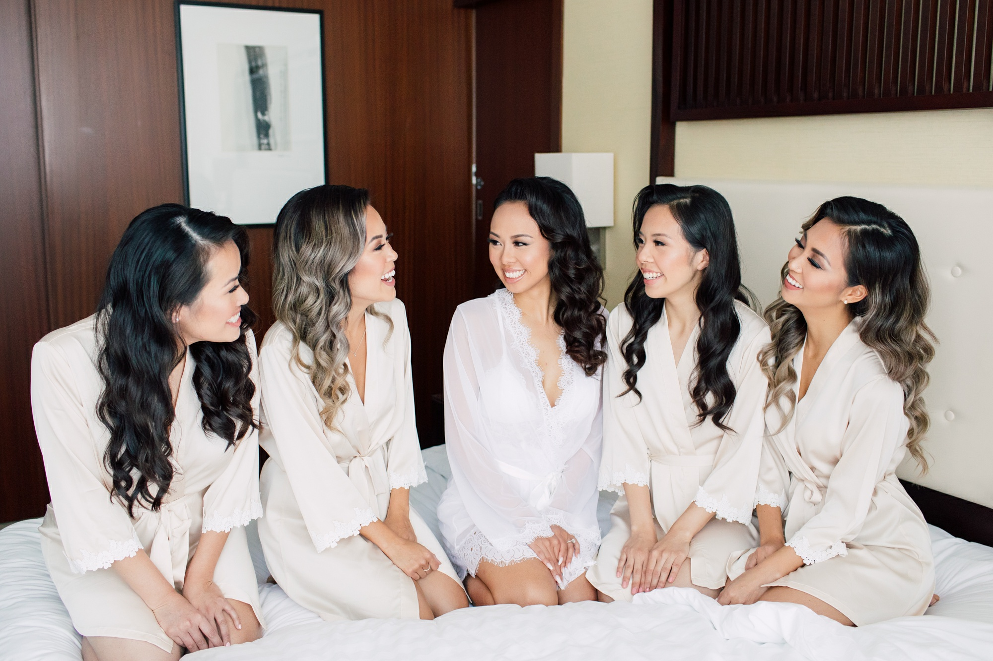 Best glam squad! Did such a beautiful job with old hollywood glam vintage curls for me and my bridesmaids - Ashley, married September 2, 2018.★ ★ ★ ★ ★