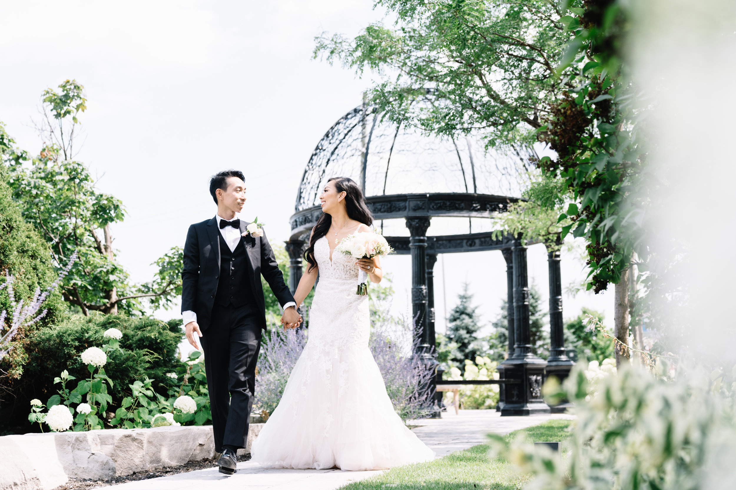We had countless of compliments on the day of my wedding. They did a fantastic job with our makeup and hair, exactly the the style I requested. - Nancy, married August 3, 2019.★ ★ ★ ★ ★