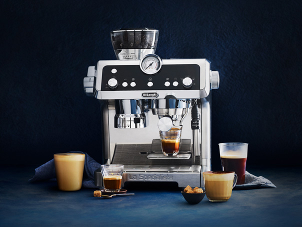Designed in Italy, crafted by you. - De'Longhi